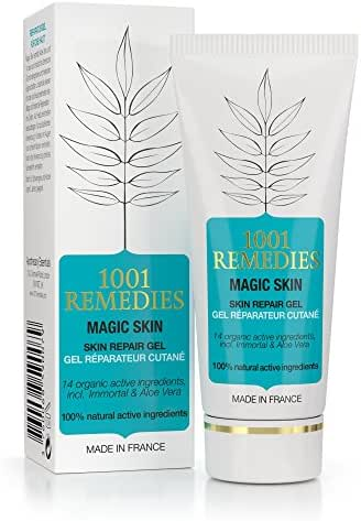 1001 Remedies Acne Spot Treatment - Scar Removal & Dark Spot Corrector For Face & Body - Tea Tree Oil Moisturizer for Spot, Acne, Rosacea Prone Skin