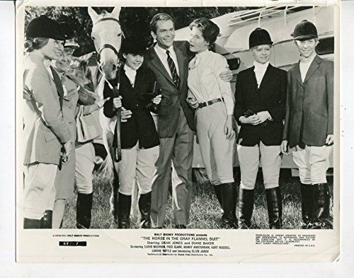 (MOVIE PHOTO: Horse In The Gray Flannel Suit-Dean Jones-Diane Baker-8x10-B&W-Still-Comedy)