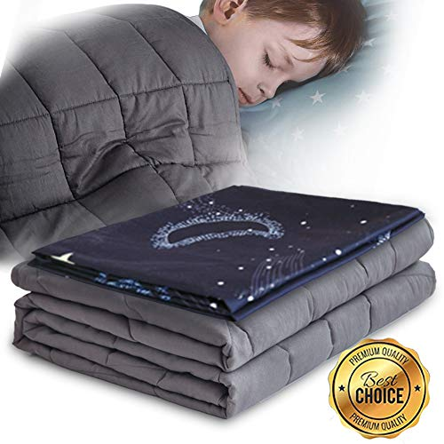 Cheap Sanxian Weighted Blanket & Star Pattern Removable Cover 5 LBS 36
