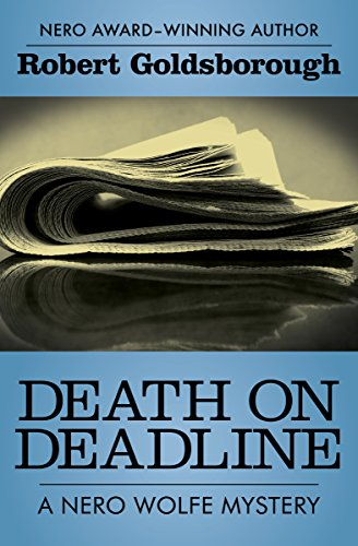 Death on Deadline (The Nero Wolfe Mysteries Book 2) cover