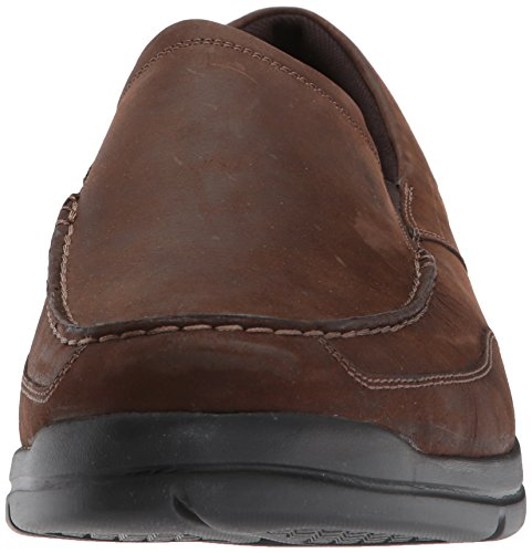 City On Rockport Play Slip Dark Brown Leather Oxford Men's Two USwfqrTw