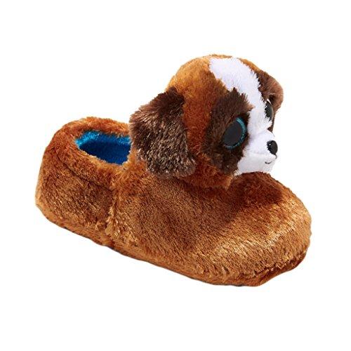 Ty Beanie Boos Slippers Duke Poppy Dog Puppy Girls Boys