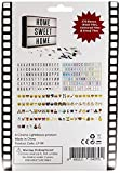 Black, Multicoloured & Emoji Pack Includes 270 Tiles for Your Cinematic Light Box