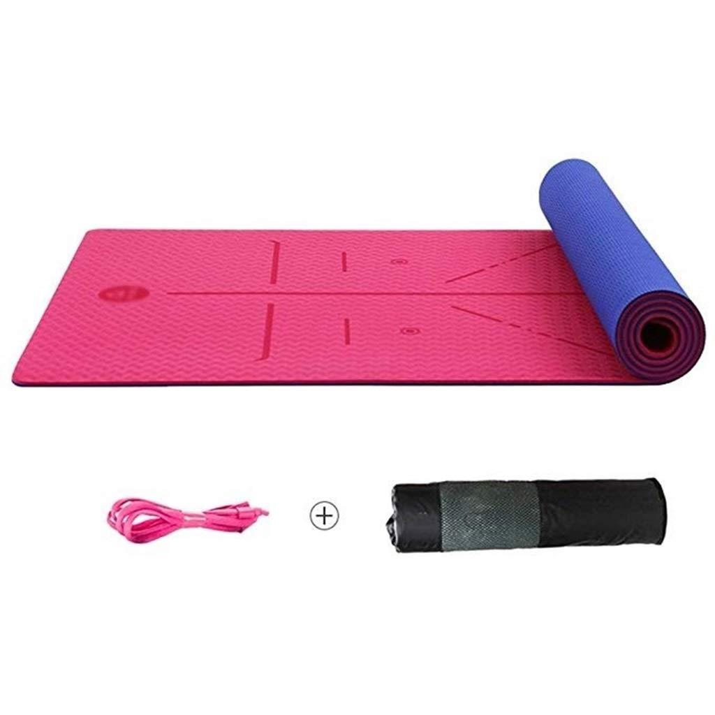 LYZ WeiQun Colchoneta de Yoga 6 Mm / 8 Mm TPE Yoga Mat ...