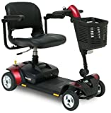 Pride Go Go Elite Traveller LX 4 Wheeled Portable Car Boot Travel Mobility Scooter - 12 Amp by BetterLife