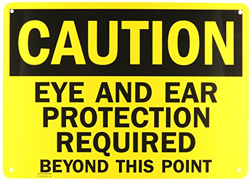 Required Protection (SmartSign Aluminum OSHA Safety Sign, Legend