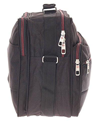 Laptop Umhängetasche Business Messenger Bag Notebook Tasche Black NEU