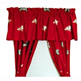 College Covers Arkansas Printed Curtain Valance