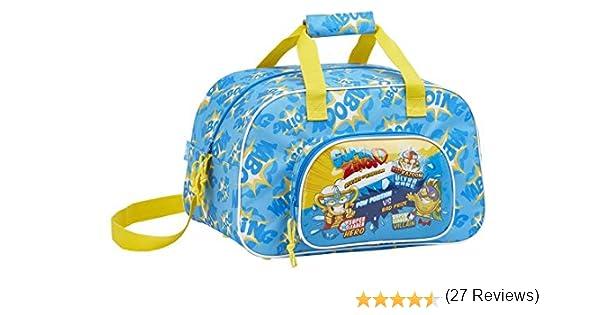 Safta Sport Bag 40 Cm Superzings, Bolsa de gimnasio Unisex bebé, Colorido, 40 Centimeters: Amazon.es: Equipaje