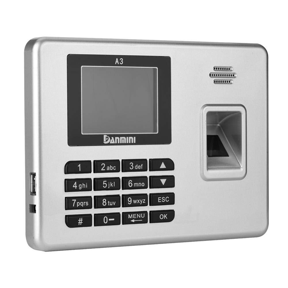 Bewinner Smart Biometric Digital Fingerprint with TFT Color Screen, Digital Fingerprint Machine Network Digital Fingerprint Attendance Machine Full-Angle Acknowledgment for Office(US) by Bewinner