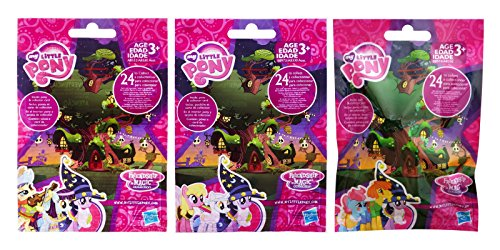 Hasbro My Little Pony Friendship is Magic Wave 16, 17 and 18 (Nightmare Night Part 1, 2 & 3) Surprise Blind Bag Mystery Pack (3 Packs Total)