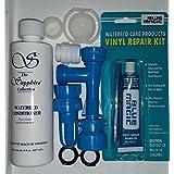 BLUE MAGIC WATERBED FILL & DRAIN PATCH CAP & PLUG (8 OZ.) CONDITIONER KIT