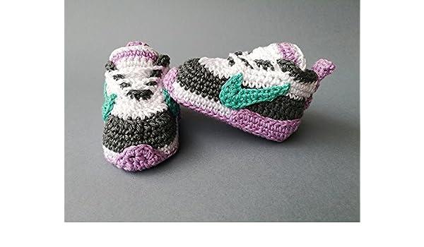 9e8c513e4a0c3 Amazon.com: Crochet Pattern baby Nike, baby sneakers eBook: paula ...