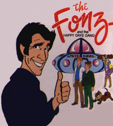 The Fonz and the Happy Days Gang (1980-83 TV series)]()