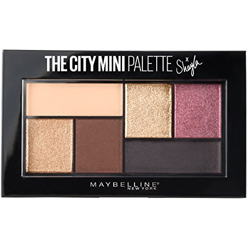 Maybelline Makeup The City Mini Eyeshadow Palette X Shayla, Shayla Eyeshadow Palette, 0.14 (0.14 Ounce Shadow)