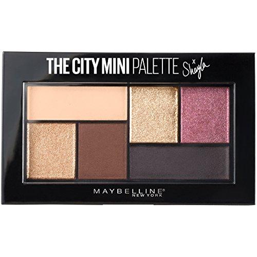 Maybelline Makeup The City Mini Eyeshadow Palette X Shayla, Shayla Eyeshadow Palette, 0.14 oz