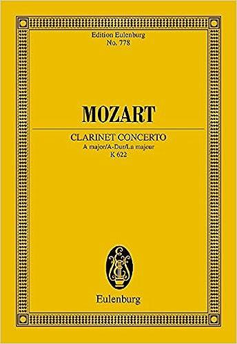 Clarinet Concerto K.622 a Major