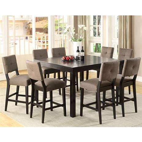 Amazon.com - 247SHOPATHOME Idf-3311PT-7PC Dining-Room, 7-Piece Set ...