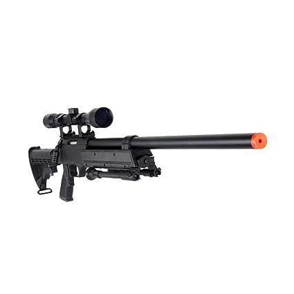 amazon com bbtac airsoft sniper rifle mb06ab bolt action spring