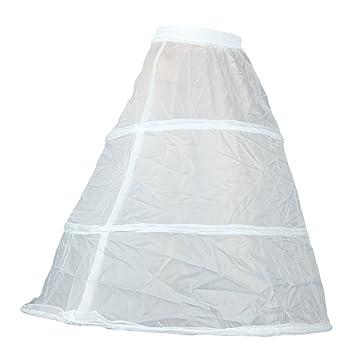 facilla jupon crinoline 3 cerceaux gaze blanc taille unique pour robe marie - Jupon Mariage 3 Cerceaux