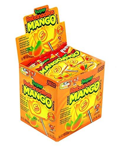 Product Of Super Rebanadita, Mango Lolipop , Count 20 (0.88 oz) - Sugar Candy / Grab Varieties & Flavors