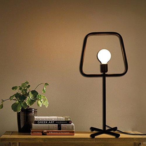 YFF@ILU Modern retro-minimalistischen Persönlichkeit Bügeleisen Wohnzimmer Studie Schlafzimmer Tischlampen Stehlampen, Tischleuchte