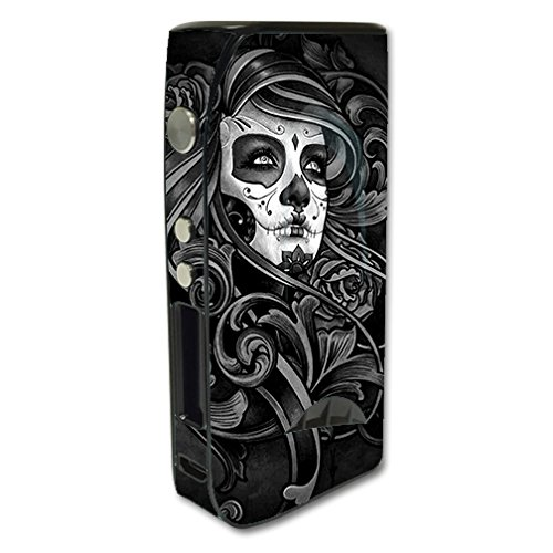 Skin Decal Vinyl Wrap For Pioneer 4 You IPV5 200w Vape Mod Box / Sugar Skull Girl