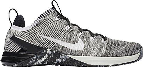 d76e8b31038b Galleon - Nike Men s Metcon DSX Flyknit 2 Matte Silver Sail Light Silver  Nylon Running Shoes 10.5 D US