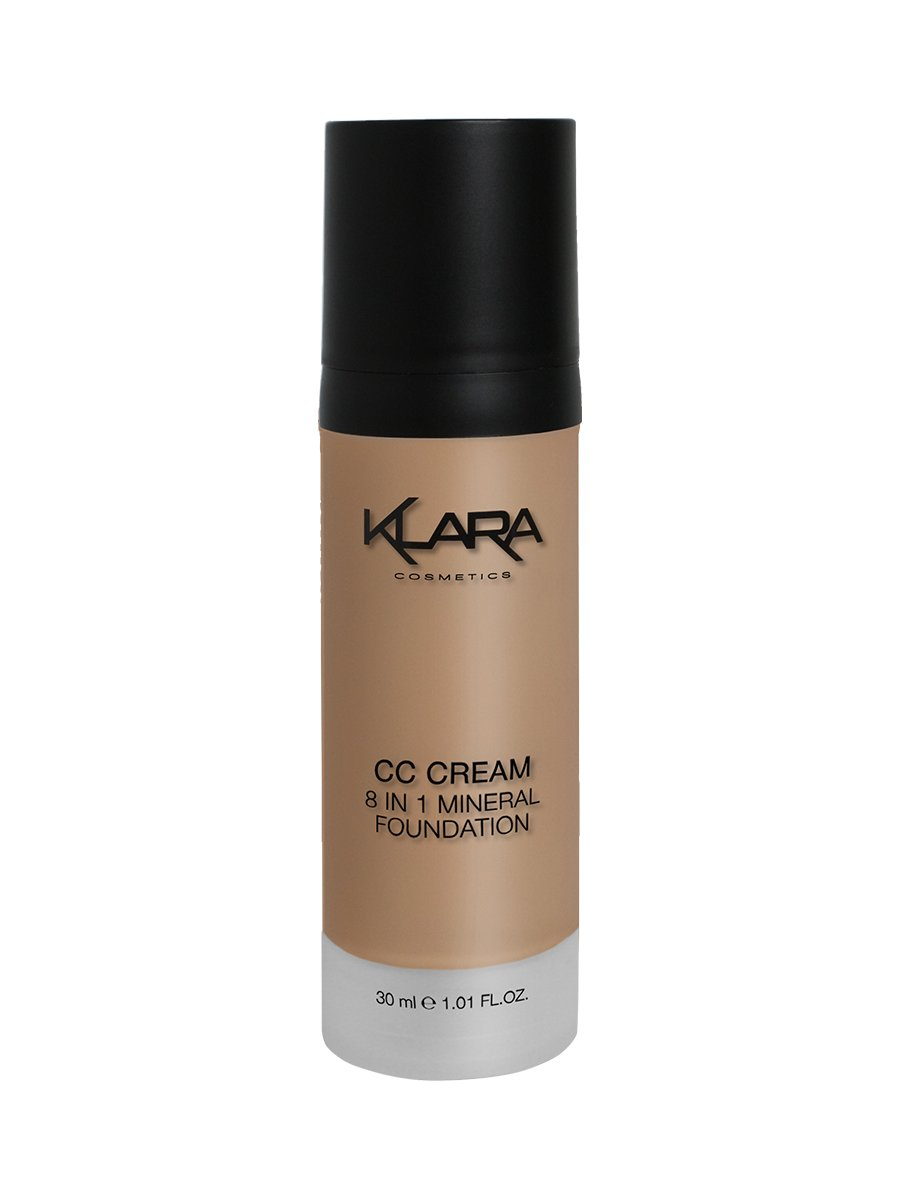 Klara Cosmetics CC Cream, Dark 04, 30 Gram