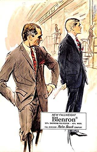 Advertising Post Card Blenron Burton