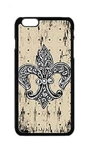 BlackKey fleur de lis fleurdelis Snap-on Hard Back Case Cover Shell for Case Cover For SamSung Galaxy S4 Mini -1250