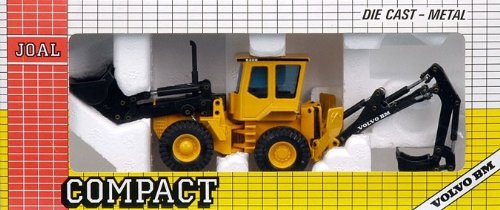 (Joal Compact, Ref. 230, Volvo Bm 6300, Die Cast Excavator Loader)
