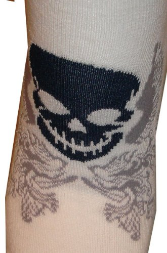 Lot Of 3 Pairs Womens Assorted Pattern Ghost Anklet Ped Socks
