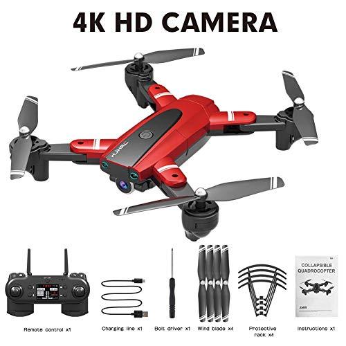 GPS HJ18 1080P 4K Drone, WiFi FPV Drone Plegable, Cámara de posicionamiento de Flujo, Sígueme, Gesture Photos / Video RC…