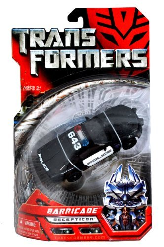 Transformers 2007 Movie Barricade Decepticon Police Car