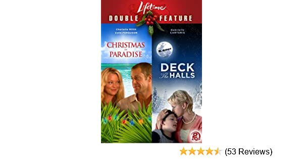 amazoncom christmas in paradise deck the halls lifetime double feature movies tv - Lifetime Fitness Christmas Hours