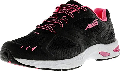 Cheap AVIA Women's Swift Trail Running Shoe,Black/Atomic Pink/White,7 M US