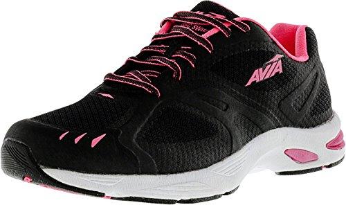 AVIA Women's Swift Trail Running Shoe,Black/Atomic Pink/White,7 M US