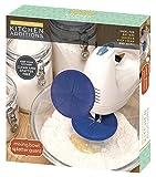 Kitchen Additions Splatter Guard Mixing Bowl, Blue