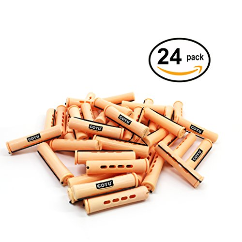 Price comparison product image 24 pc of COTU (R) Hair Perm Rods Jumbo Size - Sandy Color