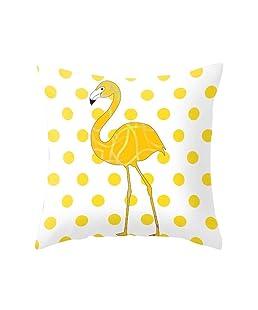 Gemini_mall® Pillow Case, Pineapple Leaf Printing Cushion Cover Sofa Home Decor Throw Pillow Case Cover 45cm x 45cm