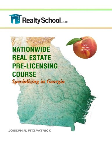 Nationwide Real Estate Pre-licensing Course:  Specializing in Georgia