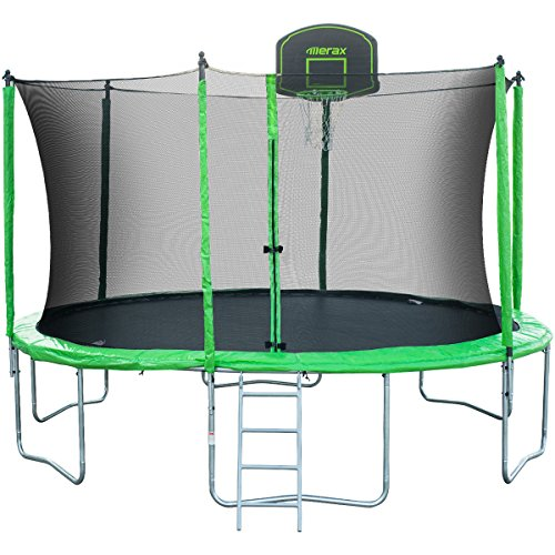 Merax Sw000009faa 14 Round Trampoline With Safety