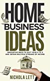 Wanna be your own boss, work in your pajamas, and make money doing what you love? Turn your dreams into reality with ...   Home Business Ideas: Innovative Ways to Quit your 9 to 5 and Obtain Multiple Streams of Income   This is not a get-rich-quic...