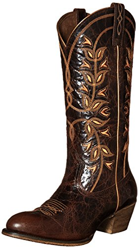 Ariat Womens Desert Holly Western Cowboy Boot Chocolate Chip