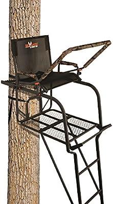 Big Game ls0500 18,6 Hunter ladderstand, Camo/negro