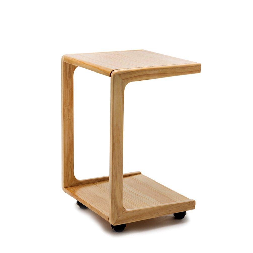 CSQ ソリッドウッドソファテーブル家庭用リビングルームサイドテーブルいくつかのサイドコーナー小さなコーヒーテーブルを移動することができます小さなスクエアテーブルベッドルームベッドサイドテーブル39 * 34.5 * 58CM (色 : #1) B07DZKDCJV #1 #1