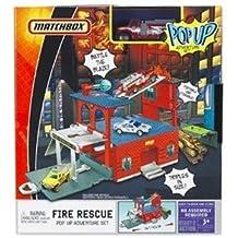 Matchbox Fire Rescue Pop Up Adventure Set
