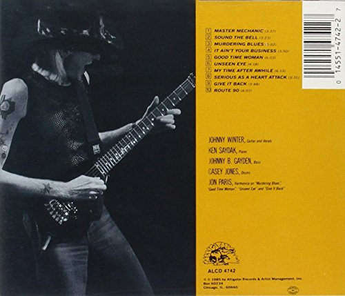 Image result for johnny winter serious business images