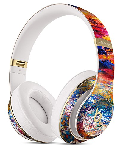 Oil Painted Meadow DesignSkinz Full-Body Skin Kit for the Beats by Dre Studio Remastered Wireless Headphones / Ultra-Thin / Matte Finished / Protective Skin Wrap